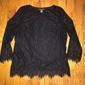 Adrianna Papell Lace Top